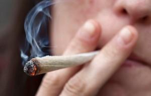 Joint de marijuana biologique